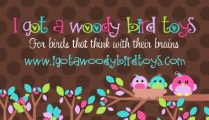 I Got a Woody BIrd Toys